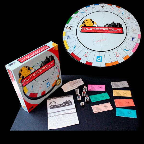 Packaging o caja para juego de mesa