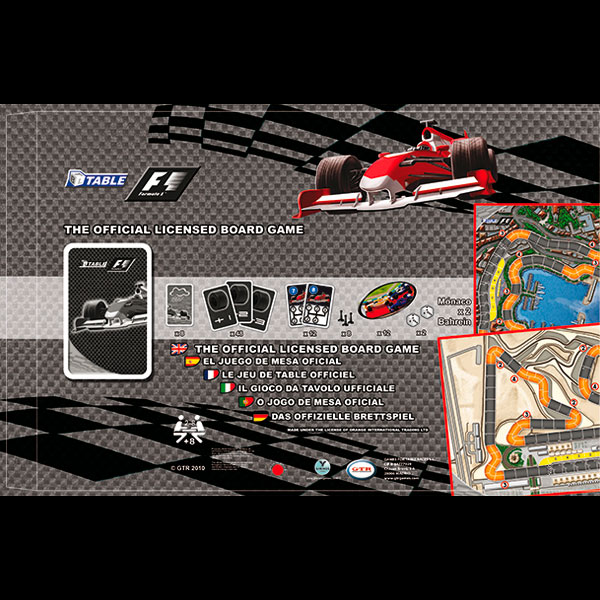 Packaging juego F1
