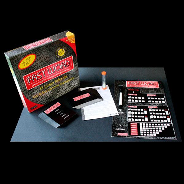 Packaging de juego de mesa