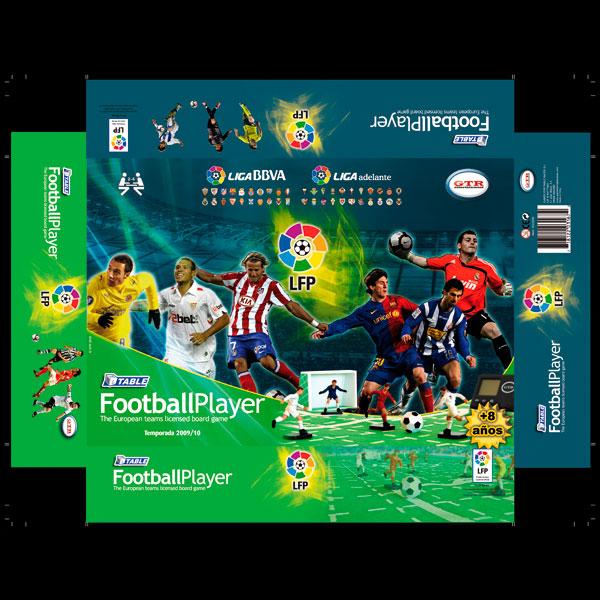 Packaging Juego fútbol
