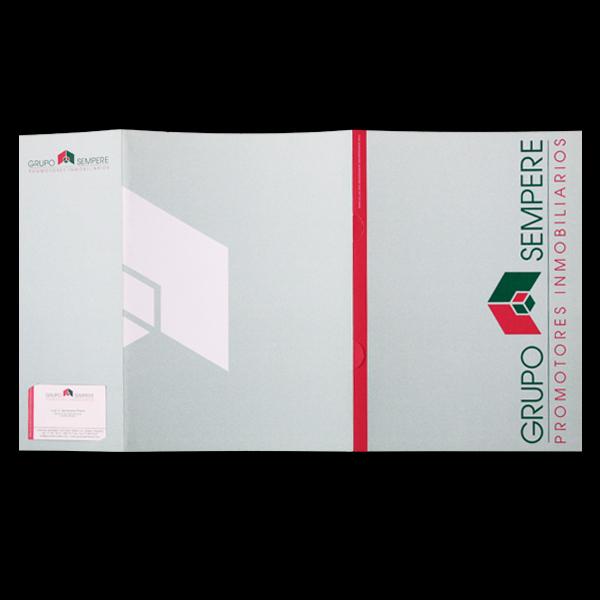 Carpeta porta documentos