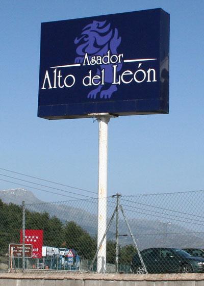Rótulo Alto del León