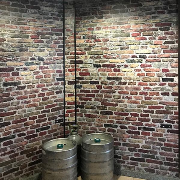 Vinilo para pared de cervecería