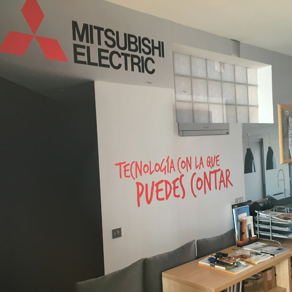 Vinilo para decorar paredes de oficinas