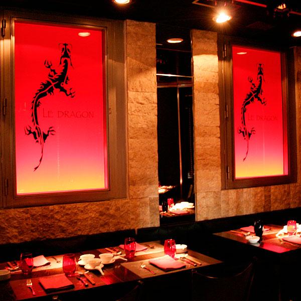 Vinilos de interiorismo para restaurantes