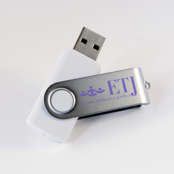 Memorias USB personalizadas con logotipo