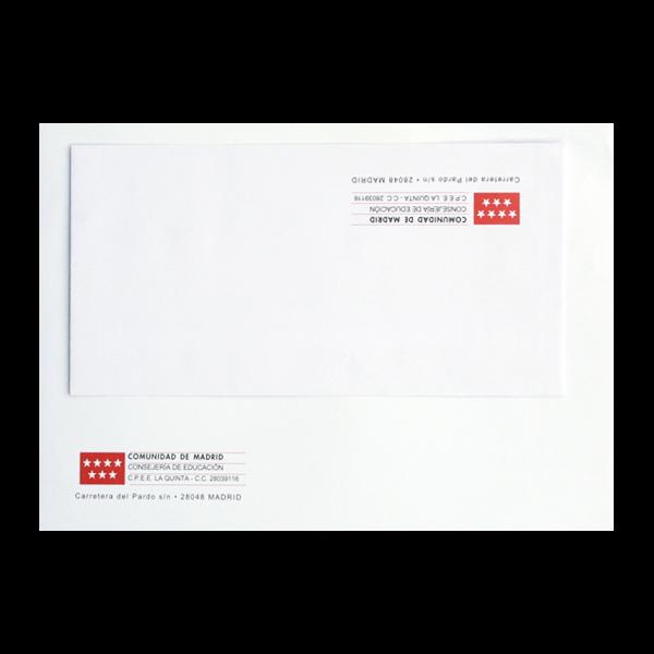 Impresión de papelería para la CM