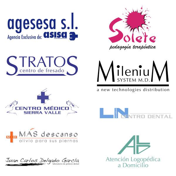 Diseño de logotipos para Sector Salud