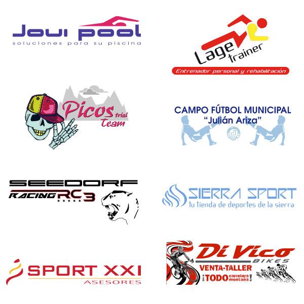 Logotipos Diseñados para el Sector deporte.