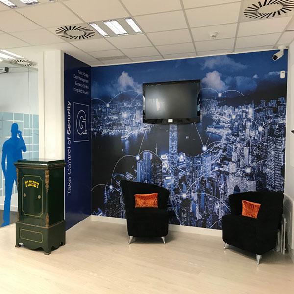 Interiorismo para oficinas en Madrid