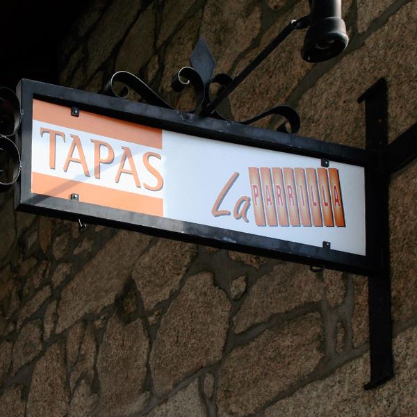 Rótulos para restaurantes en Madrid